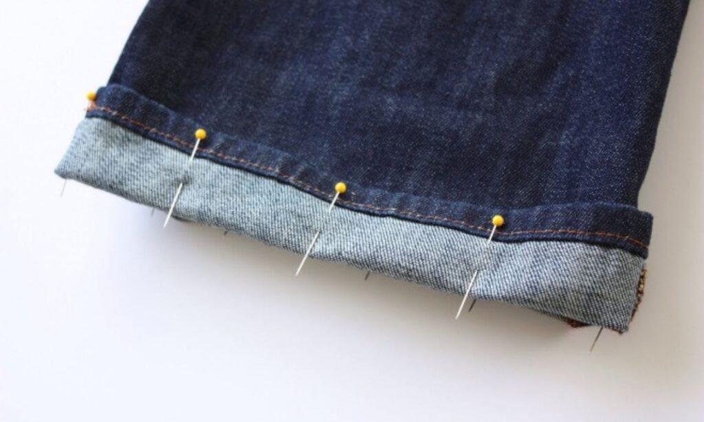 Как подшить брюки своими руками