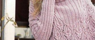 Ажурная вязка спицами - схемы и описание, выбор ниток