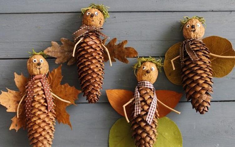 Поделки на тему осень своими руками быстро и красиво