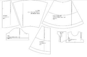 Пошив платья из фатина