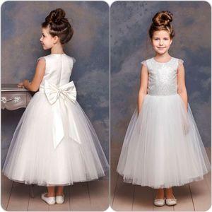 Белое нарядное платье из фатина
