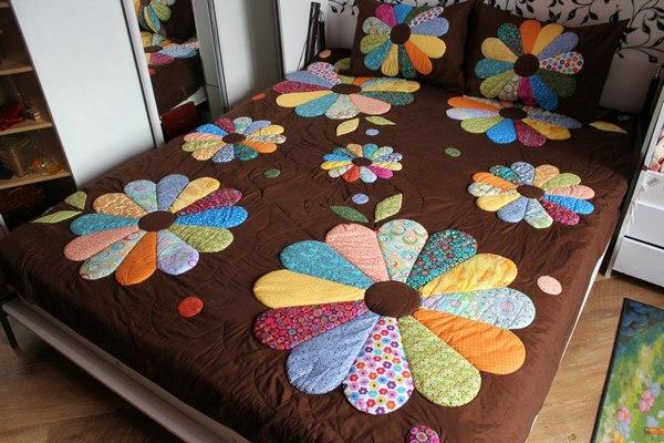 Текстиль из лоскутного шитья