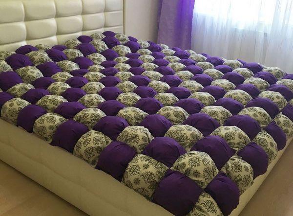 Одеяло бонбон своими руками схема