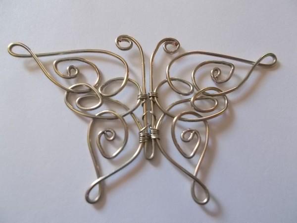 Бабочка своими руками из проволоки 1